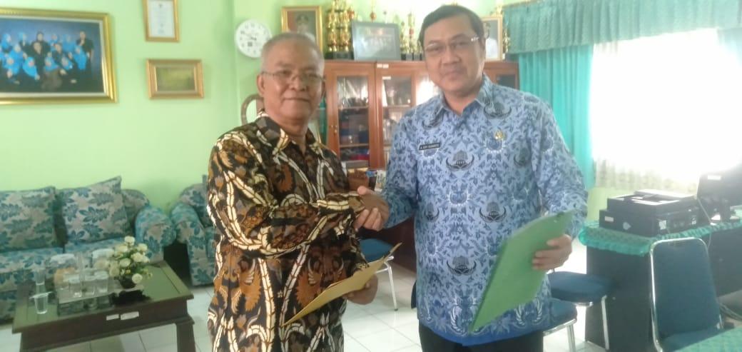 Penandatanganan MoU dengan Dinas Kesehatan Kota Cirebon